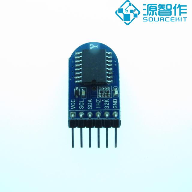 DS3231 clock module, high precision clock time module, timing IIC ds3231 high precision real time clock module blue 3 3 5 5v
