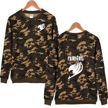 Fairy Tail Camouflage Sweatshirt