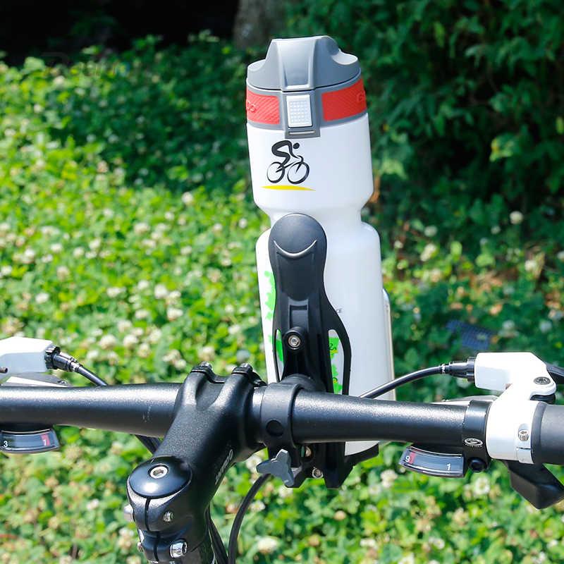Portabidon Bicicleta,Rotaci/ón de 360 Grados Soporte para Botella Universal Portavasos para Moto Bicicleta MTB Cochecito Carrito/Bebe