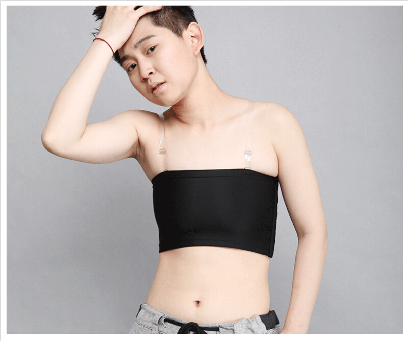 NEW Summer Tube Tops Lesbian Tomboy Chest Breast Binder Tomboy Clothing Underwear Flat Breast Binder for Trans Breast-binding 11