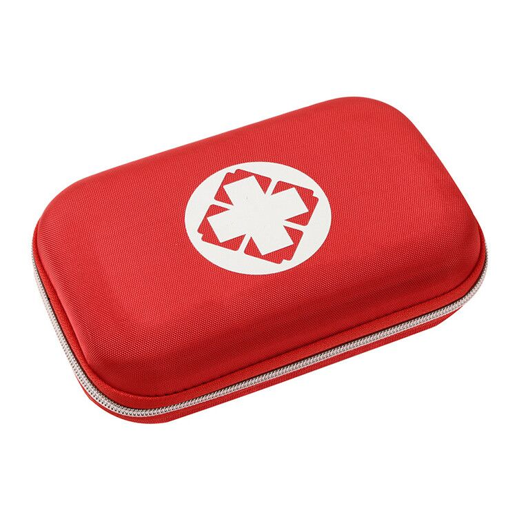 Compact First Aid Medical Kit Perfect for Home, Car, Camping, Office, Travel, Hiking, and Sports First Aid Kit