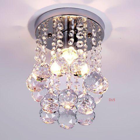 lustre de cristal iluminacao superior k9