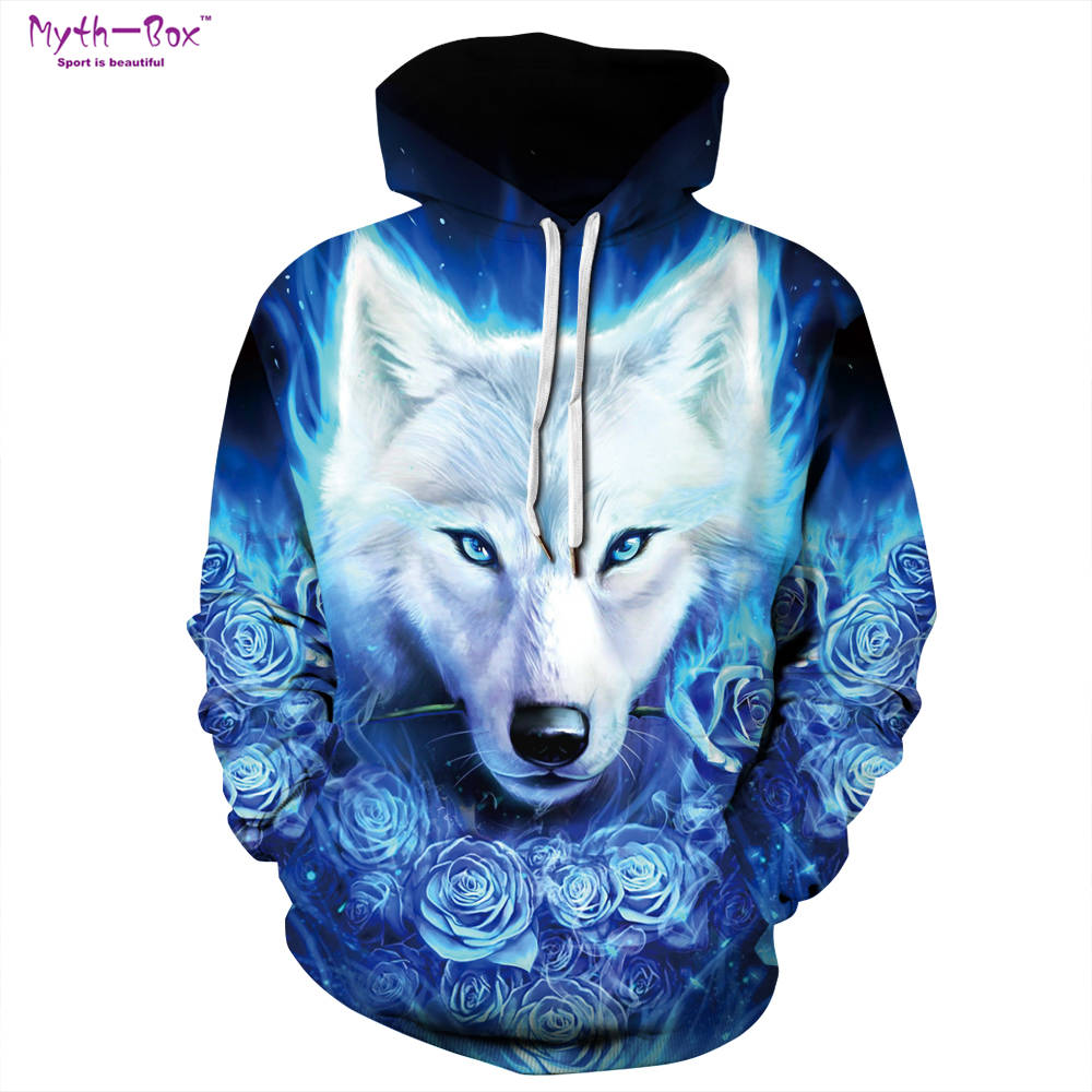 fb46885ddd15 Buy 3d wolf sweater for men and get free shipping on AliExpress.com