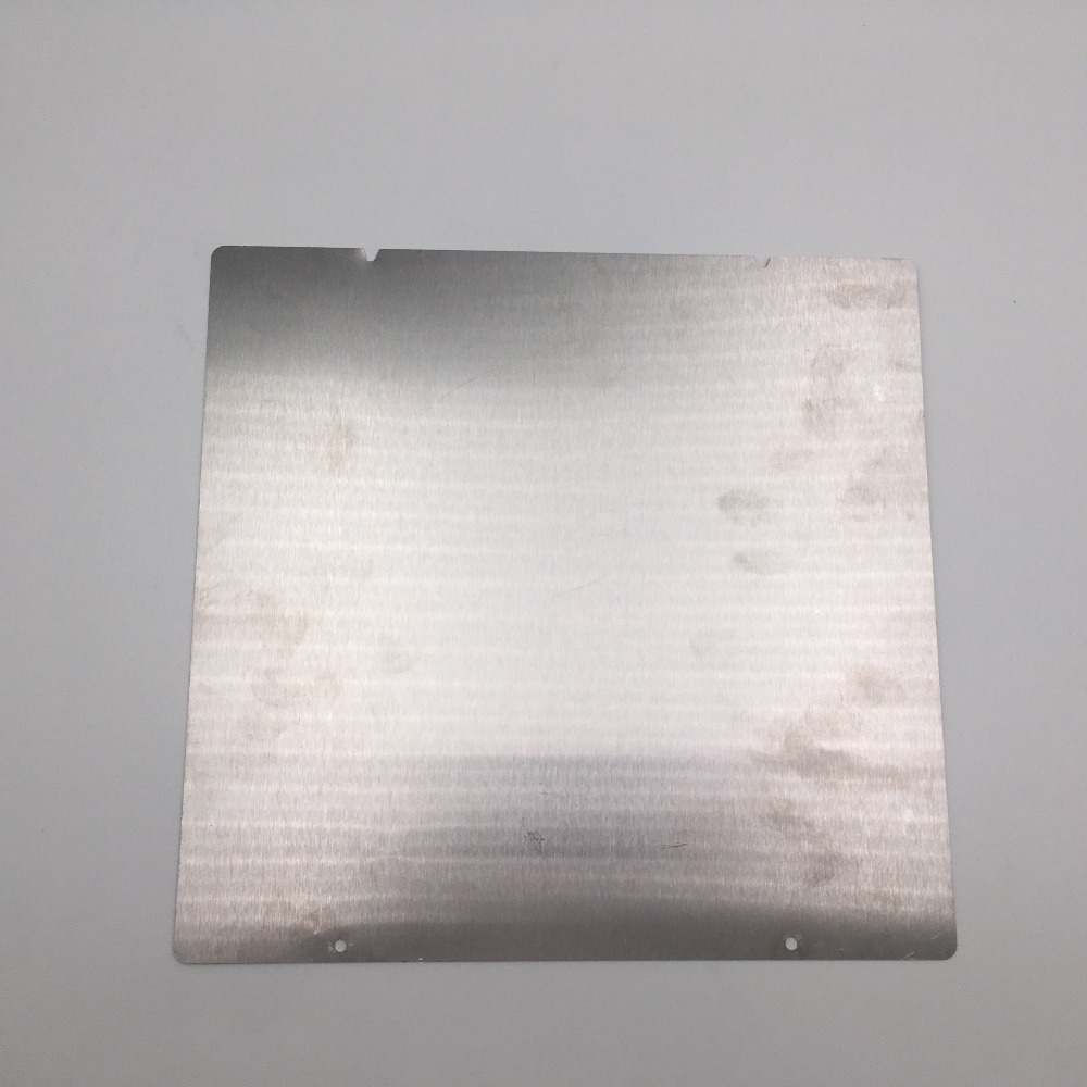 Prusa i3 mk3 3d imprimante impression surface Tôle D'acier à Ressort pour Prusa i3 mk2.5/mk3 magnets chauffée lit mk3 heatdedbad En Acier plaque