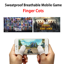 AOV/PUBG Touch Screen Mobile Game Finger Cots Sweatproof Anti-static Breathable Stall For iPhone Android iPad Gaming Tool