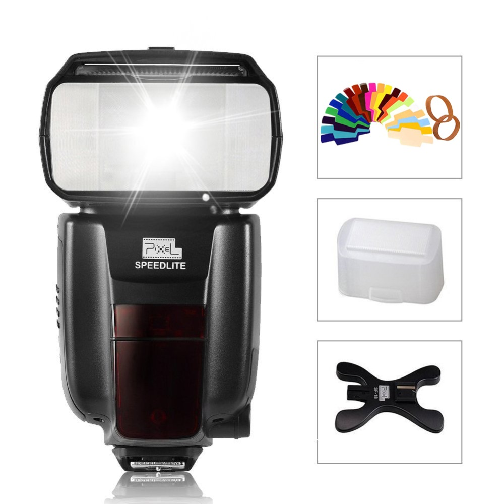 Pixel M8 2.4GHz Universal Wireless Flash Speedlite For SONY A99 A58 A6000 A3000 A7s A7 NEX-6 A6300 A6500 A7R A7RII A77II A7SII sony a6500
