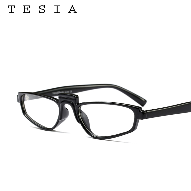 063f9eec3a54 TESIA Sunglasses Square Elegant Women Eyewear Steampunk Style Small Border  Glasses Shield Female Eyewear Rihanna Sun Glass-in Sunglasses from Apparel  ...