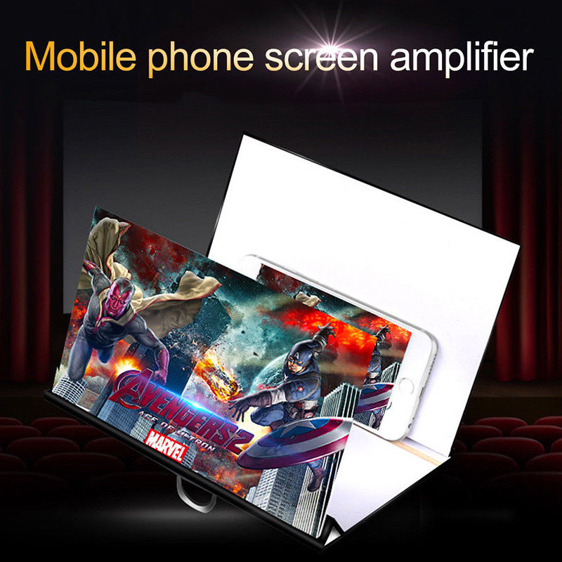 Interior Design - 8 inch  Mobile Phone Screen Magnifier Stand