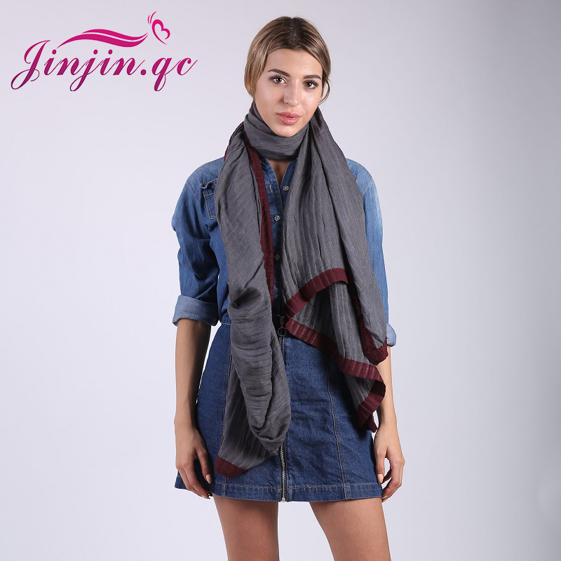 [Jinjin.QC] fashion cotton scarf s