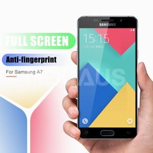 Image 2 - 9D ป้องกันแก้วสำหรับ Samsung Galaxy A3 A5 A7 J3 J5 J7 2016 2017 S7 กระจกนิรภัยหน้าจอ Protector แก้วฟิล์ม