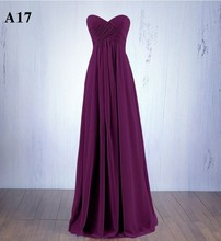 Sexy Summer Dress Strapless Chiffon Bodycon A-line Wedding Party Dress Royal Blue Red Purple Long Evening Maxi Dress Vestidos