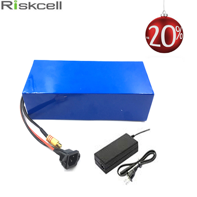 US EU No Tax DIY 48 Volt 15Ah li-ion Battery Pack use Samsung cell Battery 48V 15Ah E-Bike Battery for 1000 Watt Motor 48v 15ah li ion ebike battery 750w 48v 15ah bottle battery pack use samsung 3000mah cell 20a bms with 2a charger