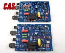Um par ljm 100 w * 2 potência estéreo amplfier amp ref quad 405, placa de amplificador alta qualidade para diy