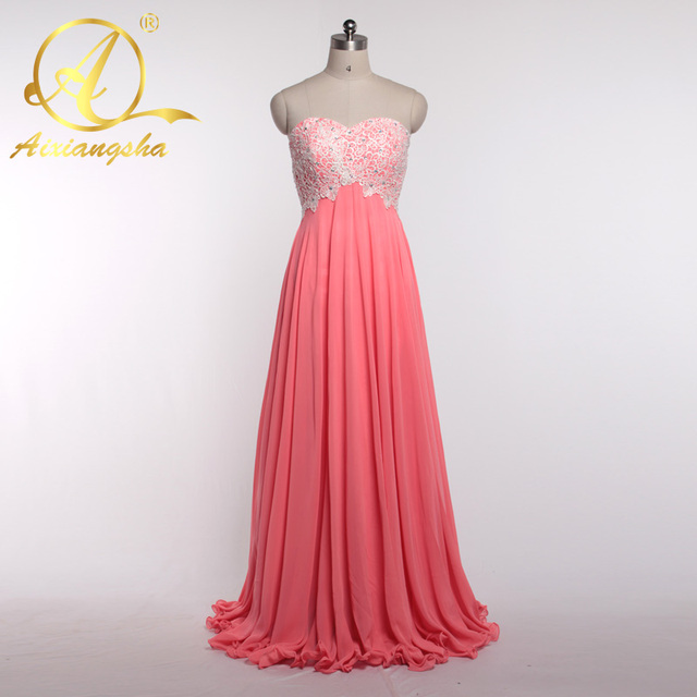 Vintage Peach Color Bridesmaid Dress Custom Made Wedding Party Gown Floor-length  Dress Sleeveless Top Beading Formal Dress 51d25eac44e1