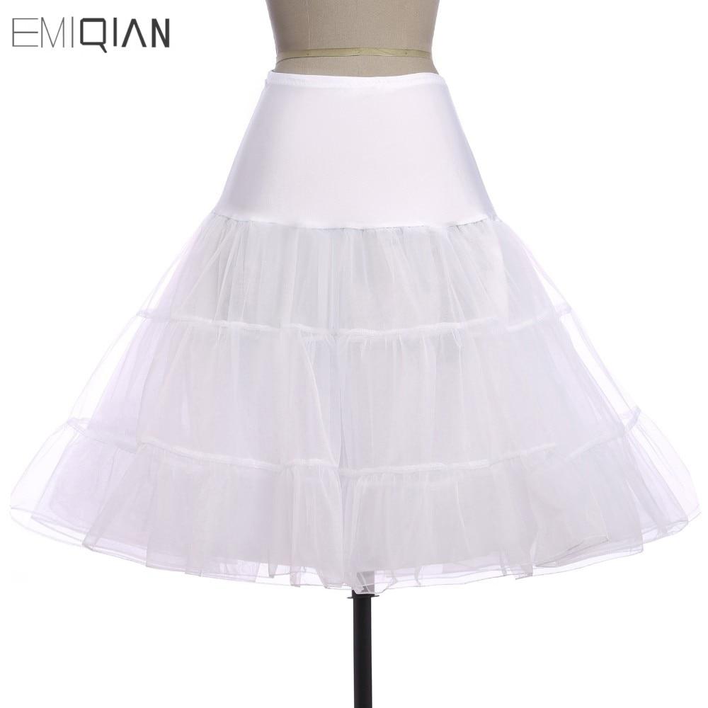 Tutus Black White Red Short Petticoat For Cocktail Dresses Crinoline Underskirt