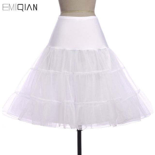 Tutus negro blanco rojo corto enagua para Vestidos de cóctel crinoline  underskirt para corta Vestidos de 8bc73a5ca213
