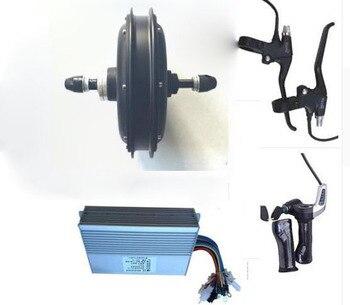 Motor eléctrico de cubo de rueda para bicicleta, 1500W, 48V, ancho de...