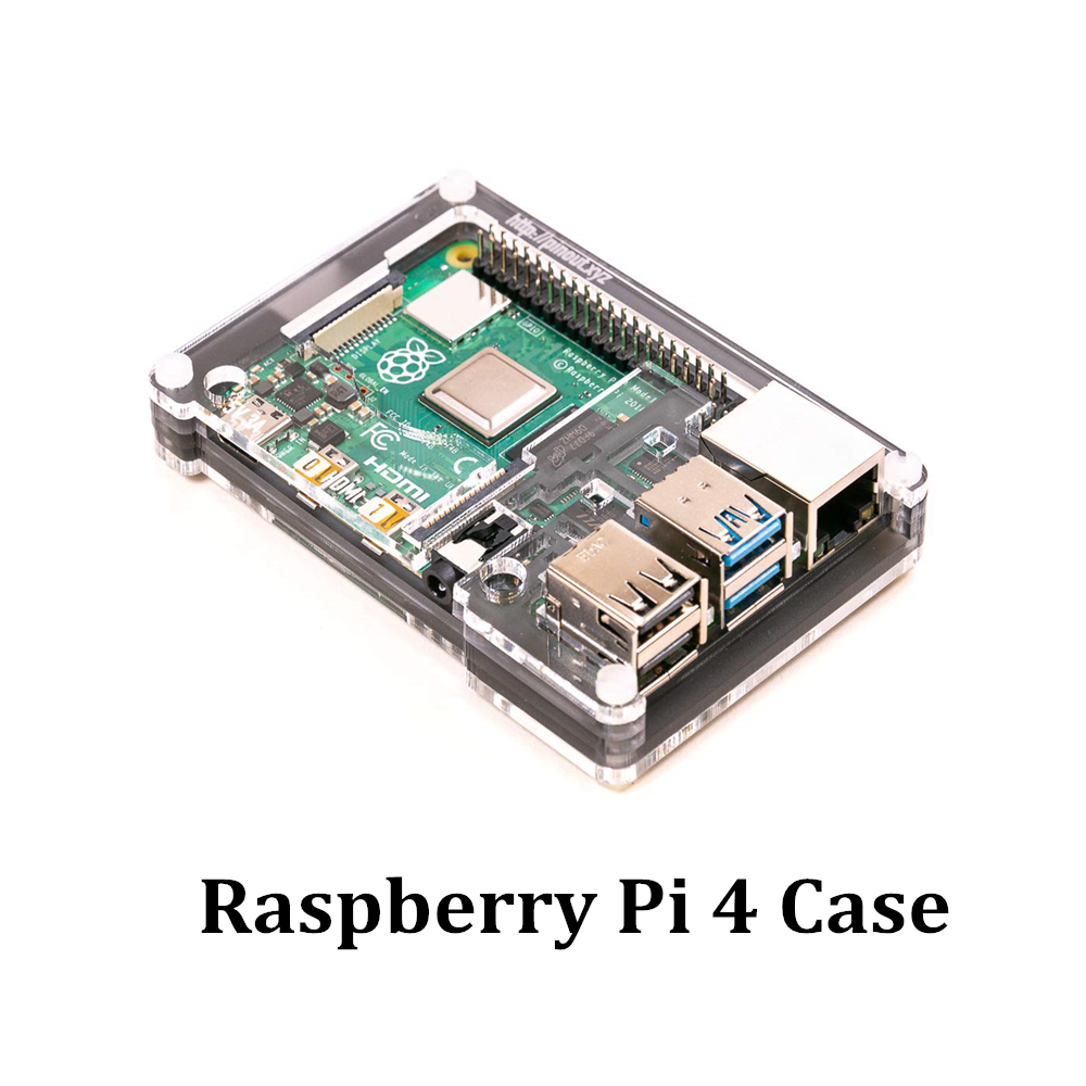 Latest Raspberry Pi 4 Case Acrylic Case For RPI 4 Model B