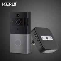 KERUI Intercom Video Doorbell Wireless 720P Security Camera Two Way Talk Night Version Real Time Doorbell