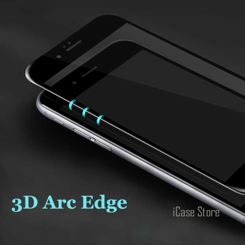 Full Cover Tempered Glass Screen Protector for iPhone 6 6s Plus 7 7Plus 6sPlus Toughened Explosion Proof Film