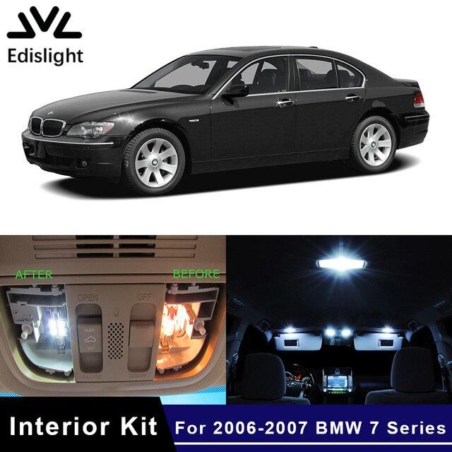 Edislight 20pcs Canbus Led Lamp Car Bulbs Interior Package Kit For