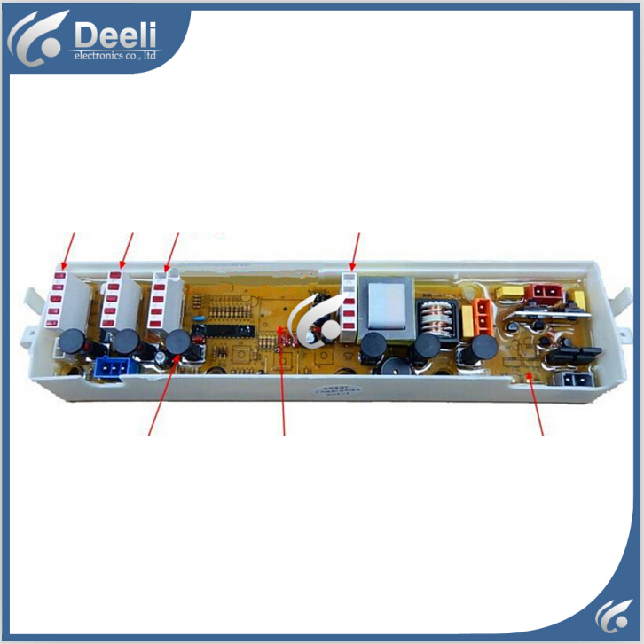 Free shipping 100% tested for Whirlpool washing machine Computer board WI6561S motherboard on sale 100% tested for washing machines board xqsb50 0528 xqsb52 528 xqsb55 0528 0034000808d motherboard on sale