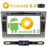 Pumpkin Octa Core RAM 4G ROM 32G 2 Din7Android 8.0 Car Multimedia Player GPS Navigation Stereo For Opel/Corsa FastBoot Headunit