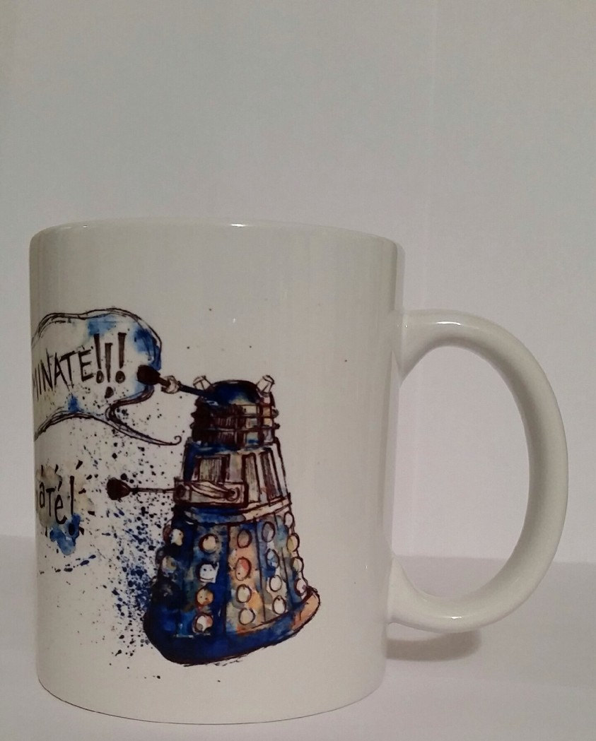 delek doctor who dr mugs who mugs photo coffee mug beer mug ceramic Tea Cups milk