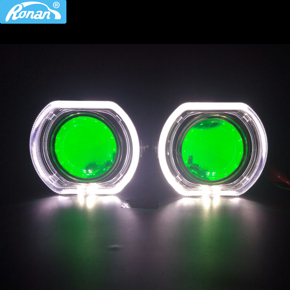 RONAN NEW car styling 3 0 Full metal pro HID Bi xenon headlight Lens H1 H4