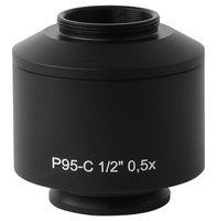 FYSCOPE Hot Sale! CE, ISO ,Professional 0.5X Zeiss Primo Star series Microscope TV Adaptor / C mount