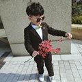 2016 nuevo traje de invierno dress plus velvet dress coreano muchacho niños envío gratis envío gratis