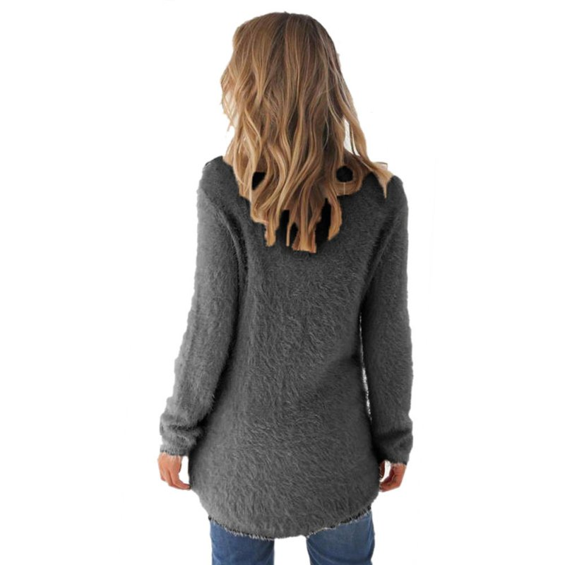 Warme Wollen Truien Dames.Vrouwen Wollen Trui Warm Wol Blend Lange Mouwen Truien Fashion Dames