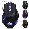 Hot-sale High Quality Game Mouse Professional Gifts 5500 DPI 7 Button LED Optical USB Wired Gaming Mouse Mice For Pro Gamer