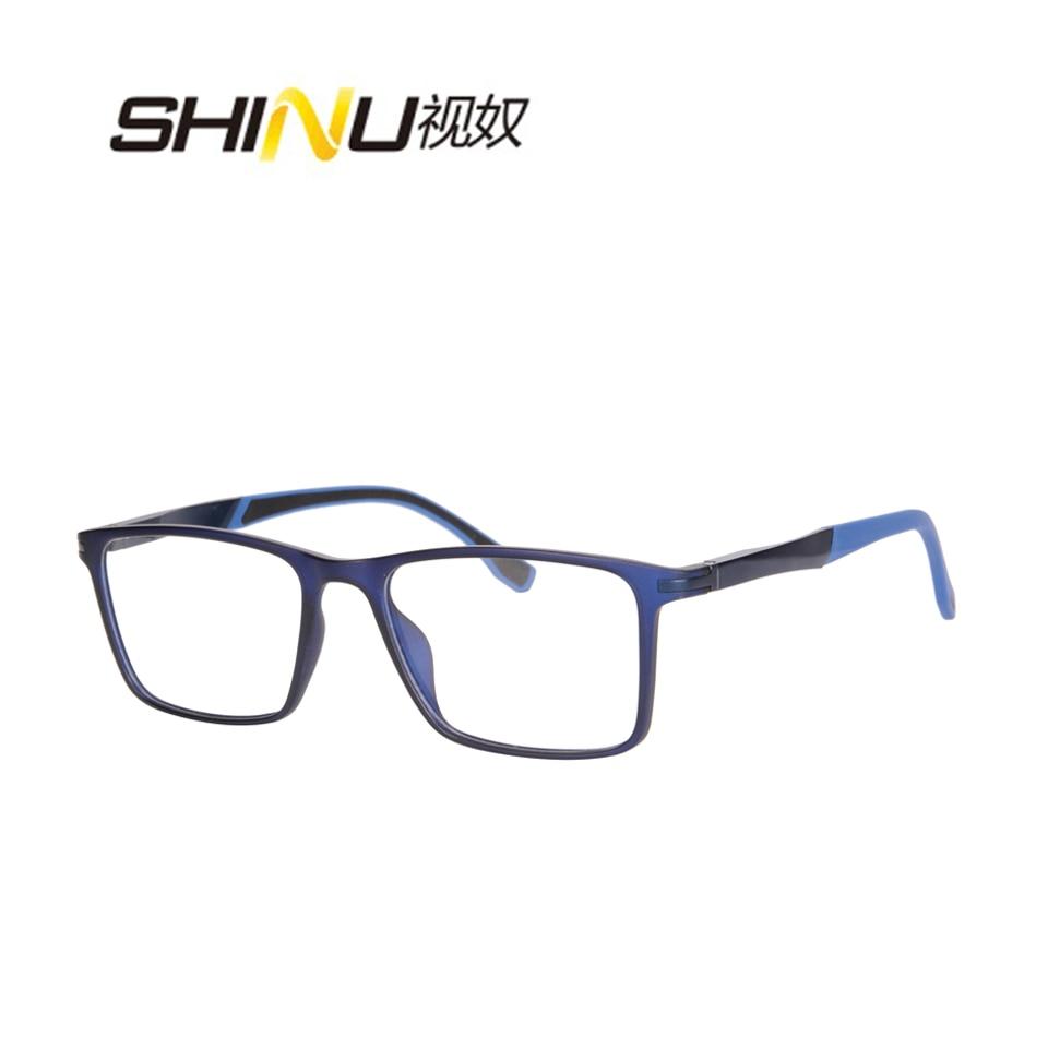 Tr90 Computer Spektakel Beschichtet Unisex Anti Progressive glare Lesen Antifatigue Multifokale Linsen Lesebrille Brillen 08P8R