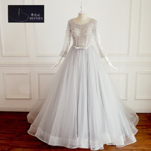 BRITNRY Ball Gown Court Train Wedding Dress 2017