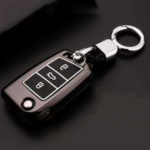 Zinc alloy+Luminous Car Remote Key Case Cover For Skoda Kodiaq Karoq Octavia 2 A5 A7 Superb Yeti Rapid For SEAT Ateca Leon Ibiza недорого