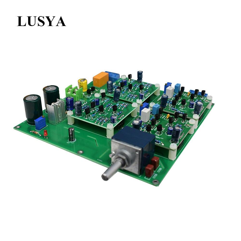Lusya SY99A class A Preamplifier HiFi Stereo Preamp Assembled Board beyond NAC 152 J2C MBL6010 amplifier