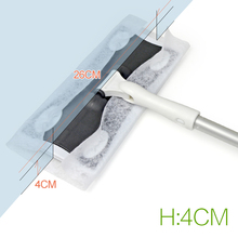 Hand-push Type Mop Electrostatic Dusting Sweeper Dust Collector 360 Degrees Rotation Carpet Floor Cleaner Gap Cleaning Tools