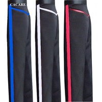 CACARE Latin Dance Pants Men Boys Dance Wear for Tango Costume Latin Customized Size 4 Choices D0964 Long Pants with Strap