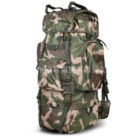 2017 High quality Tactical Men Backpack Military Camoflage waterproof 75L Nylon bags for Camping Hiking Traveling shoulders bag