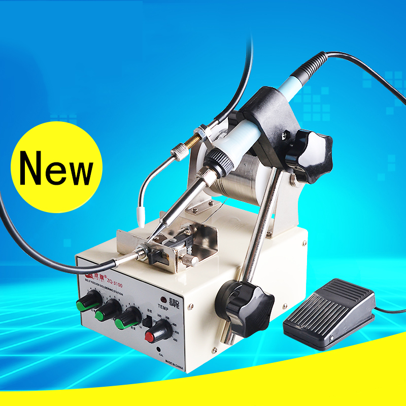 Foot type automatic soldering machine robot tin font b welding b font gun tin font b