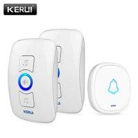 KERUI 32 Songs Wireless Long Range Smart Home Doorbell With Waterproof Push Button AC 220V EU