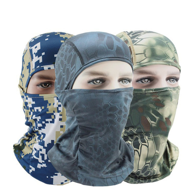 Summer Breathable Motorcycle Face Mask Thermal Synthetic Silk Ultra Thin Bicycle Bike Ski Face Mask Balaclava Hat Headwear