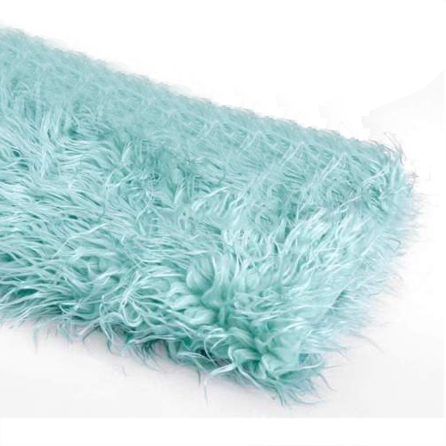 Newborn Baby Fur Photography Photo Props Background Backdrop Blanket Rug, Light Blue 130x150cm baby photo about 3d rose fabric photo blanket photography backdrop satin bridal wedding background rug