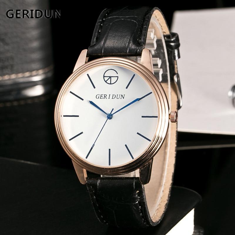 GERIDUN Fashion Herenhorloges Chronograaf & Uren Functie Heren - Herenhorloges