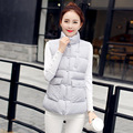 Winter Women Vest Thicken Down Vest Cotton Vests for Women Coat Stand Collar Woman Jacket Warm Woman Vest Padded Female Outwear