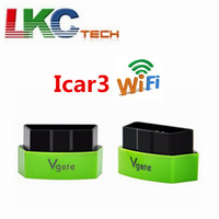 20/lot Sale ! 2018 Vgate iCar 3 ELM327 WiFi OBD2 Diagnostics Scanner for ANDROID /iOS/ iPHONE/ iPAD