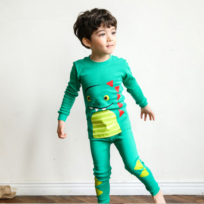 Fashion Cartoon Boys and girls Clothes cotton font b Baby s b font Sets WAN1 WAN9