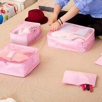 High Quality Oxford Cloth Travel Mesh Bag Women Clothes Finishing Luggage Storage Bags Underwear Clothing Storage