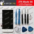 Para zte blade s6 display lcd sensor de tela de toque + ferramentas digitador assembléia repair substituição de alta qualidade acessórios
